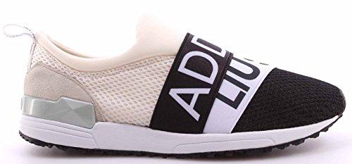 Nero Tessuto Liu Addict Grigio Sneaker Slip Donna Scarpe Elastici Jo On Bianco v0FxaB4