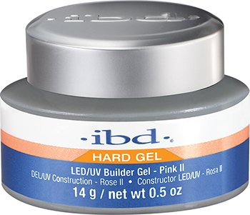 IBD Led Builder Gel, Pink II, 0.5 Ounce
