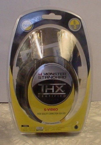 (Monster Standard S-Video 8' THX Certified Cable)