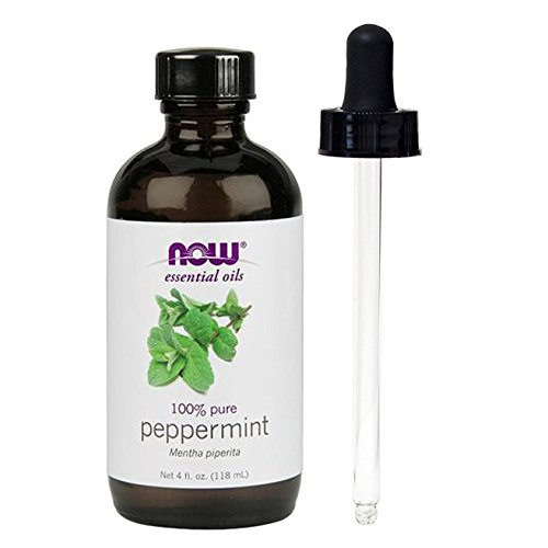 (NOW Foods, Peppermint Oil 4 oz (w/ Glass Dropper))