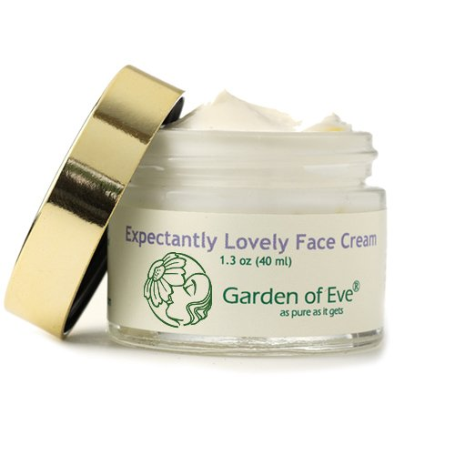Garden of Eve Expectantly Lovely Face Cream (Pregnancy safe) (Normal/ Sensitive)(Certified Organic Ingredients Fragrance-Free (No synthetic ingredients, No synthetic preservatives)-1.3 oz