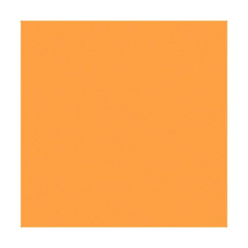 "Large 100% Cotton Solid Color Blank Bandanas (22"" x 22"") - Solid Neon Orange Dozen Packed 22x22 - for Custom Printing, Handkerchief, Headband, Head Scarf - Double Sided Blank -"