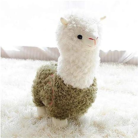 LGXINGLIyidian Cute Cartoon Alpaca Plush Doll Simulation Toy Sheep Soft Plush Regalos De Cumpleaños Juguetes para Niños Niños Kid Girl 28Cm