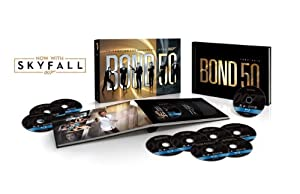 Cover Image for 'Bond 50: The Complete 23 Film Collection with Skyfall'