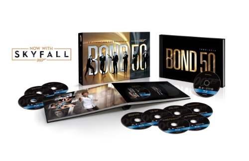 Bond 50: The Complete 23 Film Collection with Skyfall [Blu-ray]