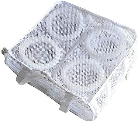 Bolsas de malla para zapatos de lavandería, reutilizables, para ...