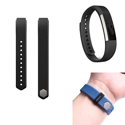 Fitbit Alta Strap, OverDose Silicone Watch Band + Fastener Ring for Fitbit Alta