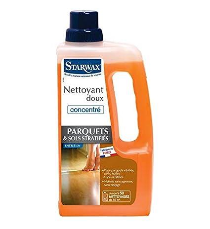 Nettoyant doux pour parquet stratifié Starwax  Amazon.fr  Bricolage 85e52f0be694