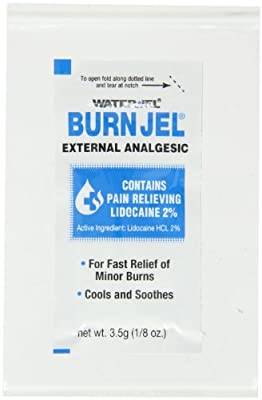 Pac-Kit by First Aid Only 600U-01 Water-Jel Burn Jel, 1/8 oz Foil Packet (Box of 25) by Pac-Kit