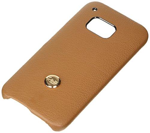 QIOTTI QX-C-0200-01-HO9 Snapcase Q.Snap Luxury Premium Echtleder für HTC One M9 braun