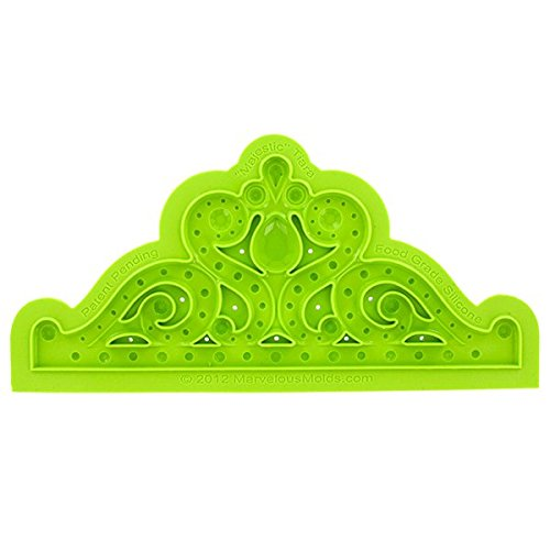 Majestic Tiara Mold by Marvelous Molds by Marvelous Molds (Image #2)