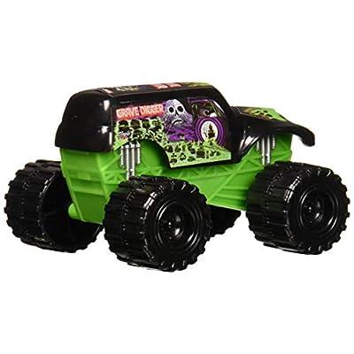 Monster Jam Grave Digger Truck Cake Topper: Toys & Games