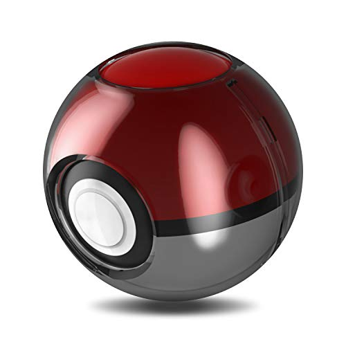 Update Case for Poke Ball Plus Switch, Clear Case for Poke Ball Plus Controller Compatible with Nintendo Switch Lets Go, Pikachu! Lets Go, Eevee! - Black