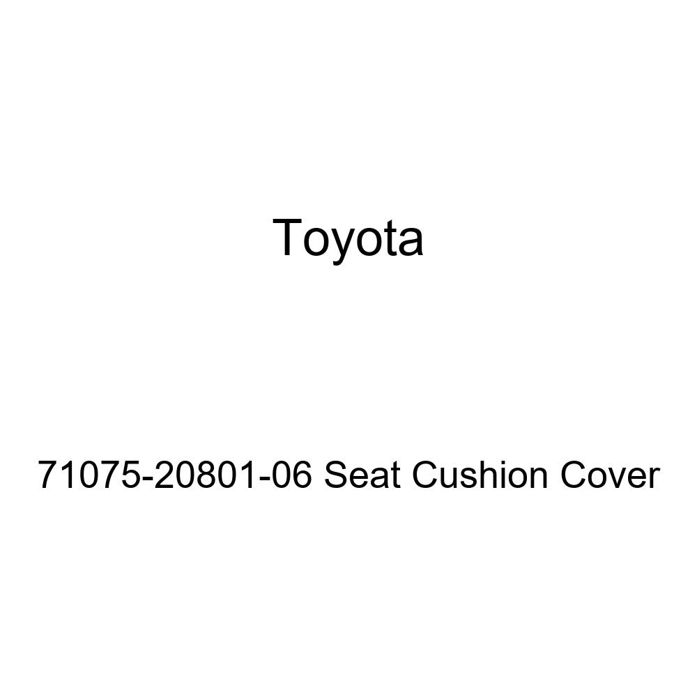 Toyota Genuine 71075-20801-06 Seat Cushion Cover