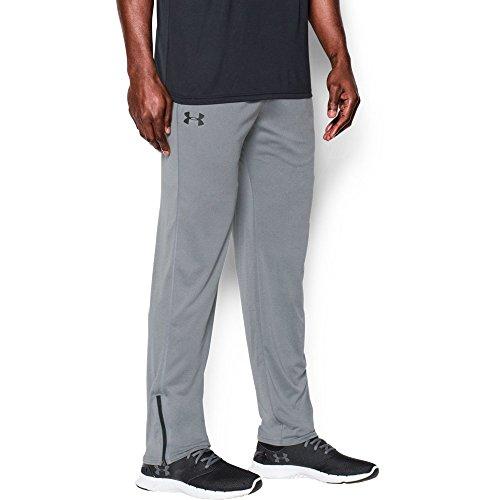 Under Armour Men's Tech Pants, Steel/Black, X-Large