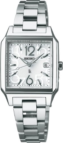 SEIKO LUKIA Water resistant radio-corrected super clear coating sapphire glass solar Women 's watch SSVW011 [Japan Import]