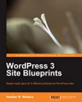 WordPress 3 Site Blueprints Front Cover