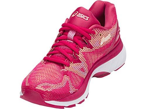 ASICS Women's Gel-Nimbus 20 Running Shoes, 5.5M, Bright Rose/Rose/Apricot by ASICS (Image #1)