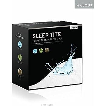 Sleep Tite Hypoallergenic 100% Waterproof Pillow Protector- 15-Year Warranty - Set of 2 - Standard