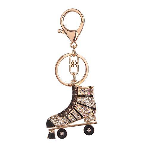 Roller Skates Forma de Bolsa Llavero de aleación Mujer ...