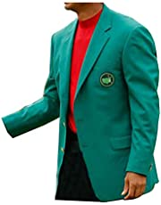 KAAZEE Mens Masters Augusta Golf Green Jacket Blazer