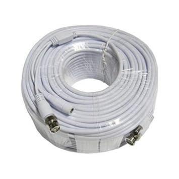 Q-See qsvrg100 coaxial cable de vídeo * 100 FT Q-See blindado Cable