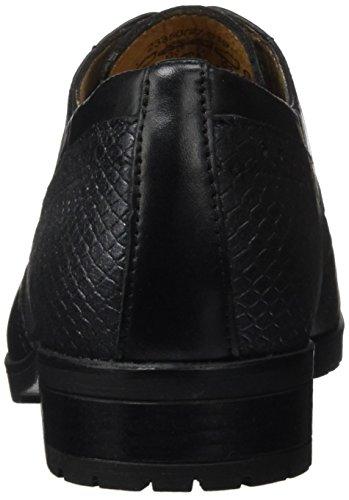 Caprice para de Zapatos Black Comb 23350 Vestir Mujer 019 Negro r7qrxUvwH