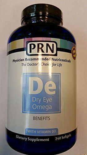 Physician Recommended Nutriceuticals PRN Omega Benefits Fish Oil 240 Softgels by PRN