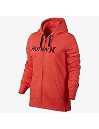 Womens One & Only Fleece Full-Zip Hoodie GFT0002530,Heather Ember Glow,XS