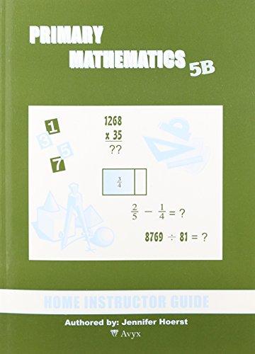Singapore Primary Mathematics 5B Home Instructor Guide