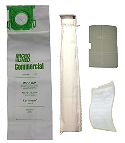 9bb29f41d7ef Sebo X, G Series, Windsor Sensor Series Upright Vacuum Cleaner Bags & Filter  Supply