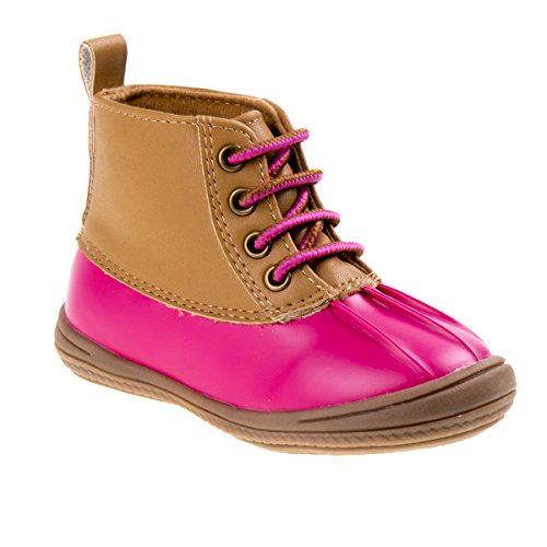 ion Boot, Fuchsia Patent/tan, 9 Medium US Toddler ()
