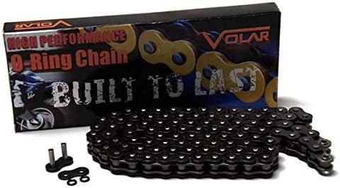 Black for 1993-2007 Honda Shadow VLX 600 VT600CD Deluxe Volar O-Ring Chain