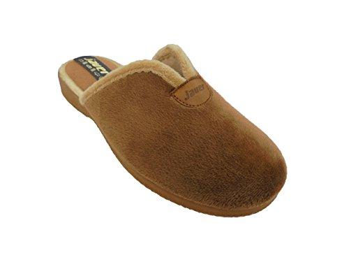 Zapatillas de estar por Casa para Mujer Javer mod.4764. Calzado Made in Spain Garantia de Calidad. Marrón