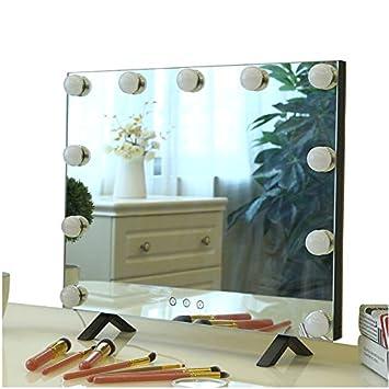 Amazon.com - Perfect Global Large Makeup Mirror Hollywood ...