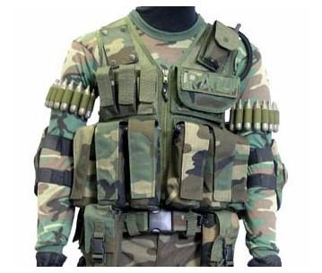 Tactical Ten Paintball Vest - paintball chest protector