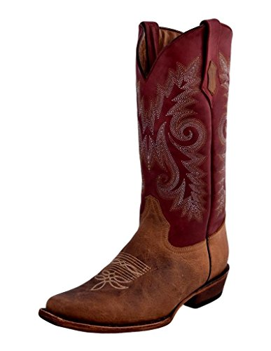 Ferrini Western Boots Dames Roughrider Distressed Bruin 82171-39 Distressed Brown
