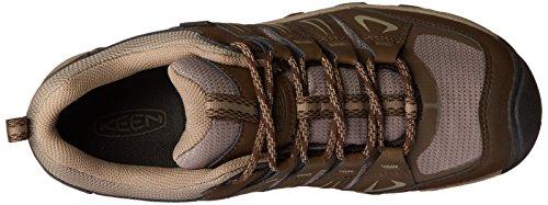 Keen Oakridge WP, Scarpe da Arrampicata Basse Uomo Marrone (Cascade/Brindle 0)