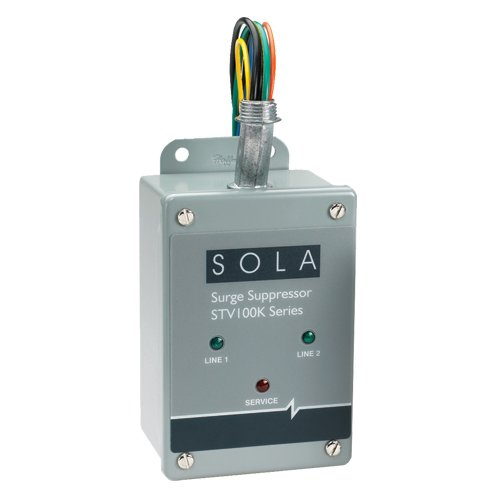 Sola/Hevi-Duty STV100K-27Y Surge Protector, Hard Wired, 3P, 100 kA by Sola/Hevi-Duty