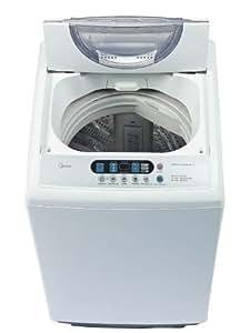 midea MAE100-S2002GPS 2.53 cu. ft. Top Loading Portable Washing Machine, White