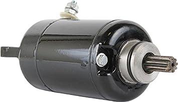 DB Electrical SMU0339 Starter for Kawasaki EL250 Eliminator 88-94 EX250 Ninja 250R 86-12 248cc /21163-1100 21163-1136 21163-1205 21163-1221 ...