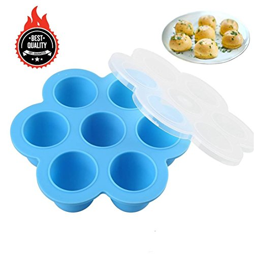 Awekris Silicone Egg Bites Molds for Instant Pot Accessories