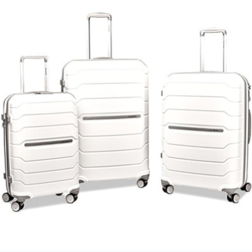 Samsonite Freeform 3 Piece Set 21|24|28 Inch Expandable Spinners (One Size, Black)