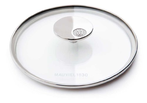 Mauviel Made In France M'360 5318.28 11-Inch Glass Lid with Cast Stainless Steel