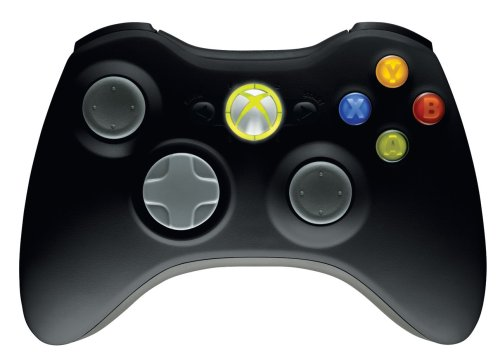 Wireless Controller Black X360 - 7