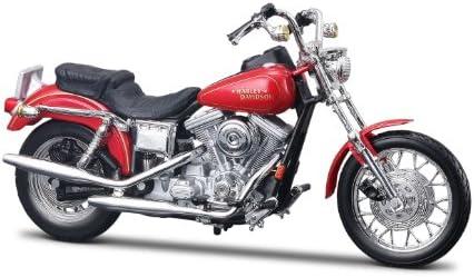 Maisto 1:18 Harley-Davidson FXDL Dyna Low Rider, Red