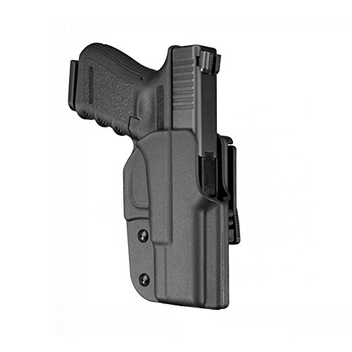 Blade-Tech Industries Signature Series OWB Holster Glock 34/35 Right Hand with Tek-Lok Attachment, Black