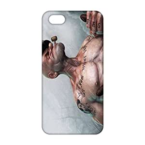 Fortune 3D Case Cover Popeye Cartoon Phone Case For Sam Sung Galaxy S5 Cover