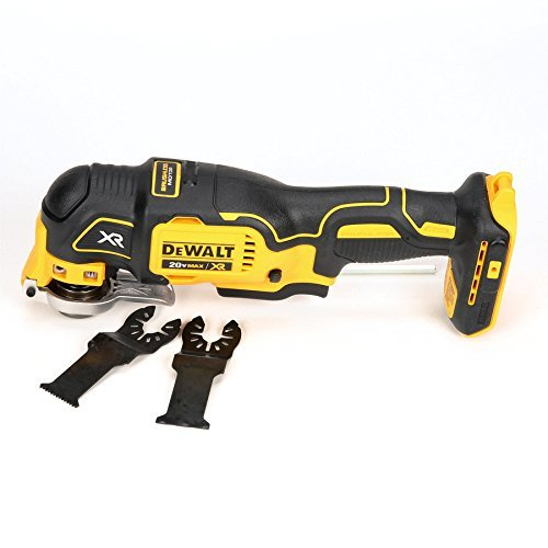 DEWALT XR Cordless 20-Volt Max Oscillating (Bare Tool Only-No Battery-No Charger) Model DCS355B, Yellow
