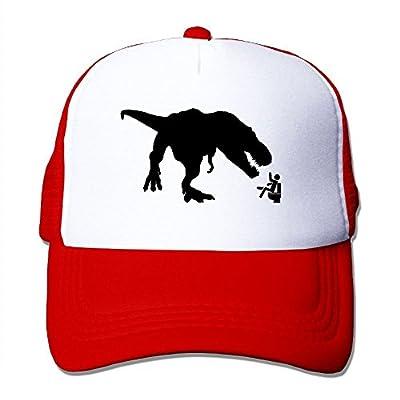 Tyrannosaurus Adjustable Snapback Baseball Cap Custom Mesh Trucker Hat by Huishe1